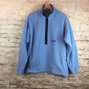 Patagonia Blue/Navy Synchilla Pullover Size Large